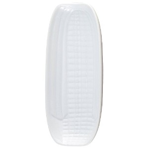 HIC Corn Dish, Porcelain, 9.5- by 4.25-inch