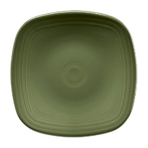 Fiesta 920-340 Square Luncheon Plate, 9-1/8, Sage
