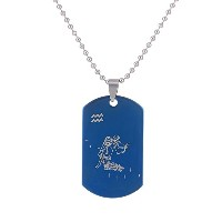 Stainless Steel Pendant Chain Necklace For Women