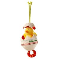 Dancing Baby Chick in Egg Toy by Lilliputiens