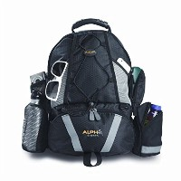 Baby Sherpa Diaper Backpack, Alpha Black by Baby Sherpa