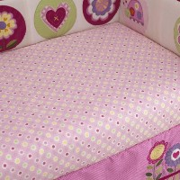 Love Bug Fitted Sheet by Too Good by Jenny by Too Good by Jenny McCarthy