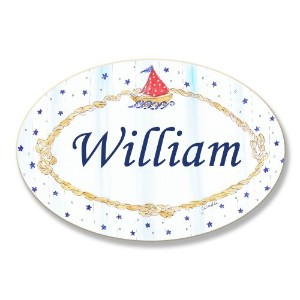 The Kids Room by Stupell William, Sailboat and Stars Personalized Oval Wall Plaque by The Kids Room...
