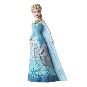 "Disney Traditions Frozen Showcase Collection ""Fortress of Frost"" Elsa Figurine #4046035 by Enesco ..."