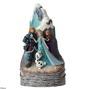 Disney Traditions Frozen Birch Carved By Heart Figurine by Disney