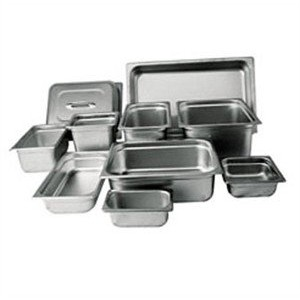 "Winco anti-jam 1 / 3 x 2 – 1 / 2 "" Regular Pans"