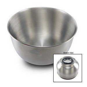 Large stainless steel bowl for Sunbeam Heritage mixers. by Sunbeam