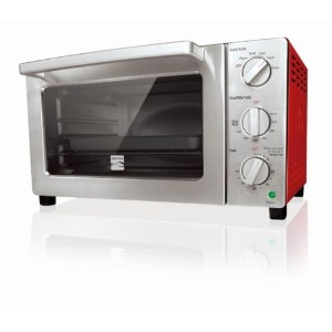 Kenmore 6-slice Convection Toaster Oven, Red by Kenmore