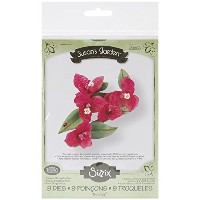Sizzix Thinlits Dies 9/Pkg-Bougainvillea Flower (並行輸入品)