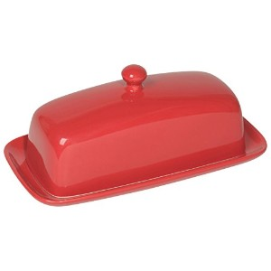 Now Designs Butter Dish, Red by Now Designs