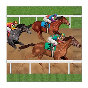 Horse Racing Luncheon Napkins One Size 58146