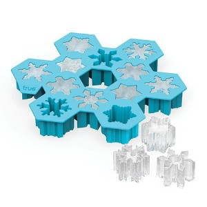 Snowflake Silicone Ice Cube Tray by TrueZoo by True