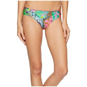 トリーナ ターク Trina Turk レディース 水着 ボトムのみ【Tropic Escape Shirred Side Hipster Bottom】Multi
