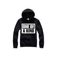 BIGBANG グッズ ONE OF A KIND パーカー 応援服 ビッグバン G-DRAGON ジヨン 着用 Ruleronline (XXL)