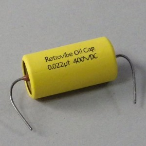 Montreux #8671 Retrovibe Oil Capacitor 0.022uF 400VDC NOSオイルコンデンサー
