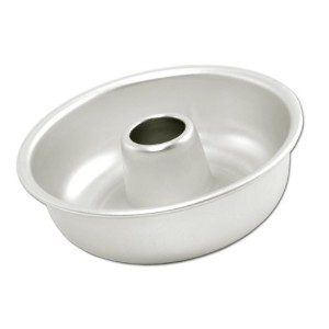 Fat Daddio's 7 1/8 Inch Top x 6 1/2 Inch Bottom x 2 3/8 Inch Ring Mold Pan by Fat Daddios