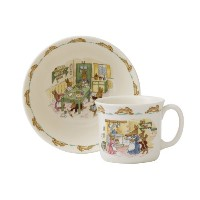 Royal Doulton Bunnykins Classic Nurseryware 2 Piece Infant Set, Multicolored by Royal Doulton