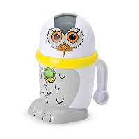 Ice Cream MUGZ Personal-Size Instant Make Your Own Mini Ice Cream/Slushy Maker, SNOWY OWL by...