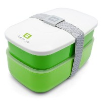 Bentgo All-in-One Stackable Lunch/Bento Box, Green by Bentgo