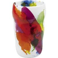 Konitz on Color Double Walled Grip Mugs, Set of 2 by Konitz