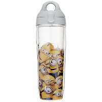 Tervis 1187197 Minions Mass Tumbler Water Bottle, 24 oz, Clear by Tervis