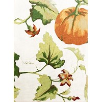 cr-p84 Cynthia Rowley Botanical Pumpkin Tablecloth 60 x 84 Tablecloth Autumn Harvest Thanksgiving...