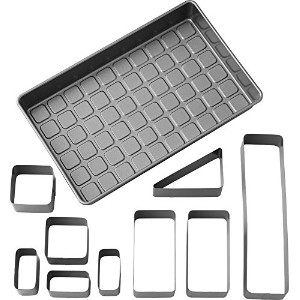 Wilton 2105-0801 Countless Celebrations Letters & Numbers Non-Stick Bakeware Set by Wilton