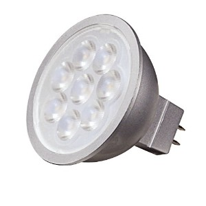 Satco s9491 6.5 W LED mr16 LED 3000 K 25 '梁Spread gu5.3ベース12 Vライト電球