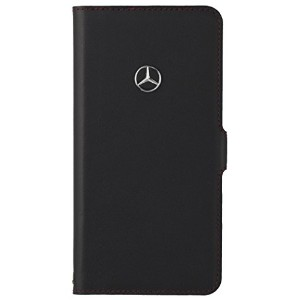 【Mercedes-Benz Collection】 iPhone 7/6/6s用 本革ケース レッドステッチ