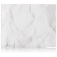 """Dynomighty Crinkled Paper Tyvek Sewn Billfold Wallet, """"A Good Idea Should Never Go To Waste"""" -..."""
