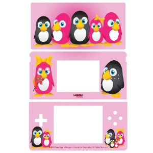 Pink Penguins Battleskin for NDS Lite (輸入版)