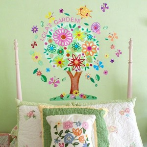 Oopsy Daisy Flower Tree Peel and Place Wall Art, 54 by 45 by Oopsy Daisy