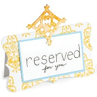 "Sizzix Bigz Die 5.5""X6""-Place Card W/Decorative Accent (並行輸入品)"