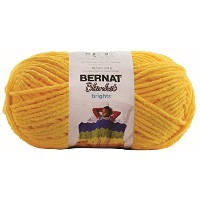 BERNAT Blanket Brights Small Ball Yarn 毛糸 超極太 イエロー系 301g 約201m