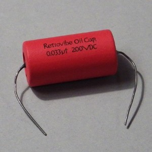 Montreux #8911 Retrovibe Oil Capacitor 0.033uF 200VDC NOSオイルコンデンサー