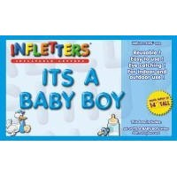 Infletters Inflatable Letters Boxed Set ITS A BABY BOY by Inflatable Letters