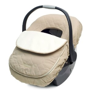 JJ Cole Car Seat Cover, Khaki by JJ Cole
