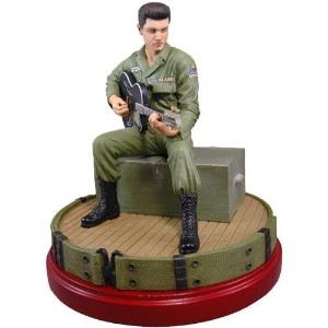 ELVIS PRESLEY - Elvis in the Army Limited Edition Sculpture/ フィギュア・人形/ 【公式 / オフィシャル】
