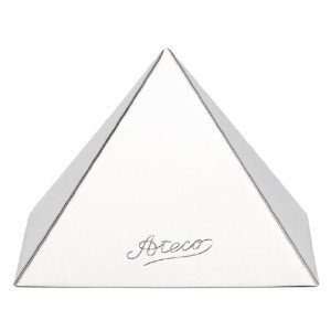 Ateco 3.5 by 2.5-Inch Stainless Steel Pyramid Mold by Ateco