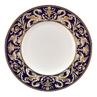 Renaissance Gold Accent Salad Plate Scroll 9 by Wedgwood