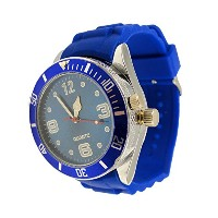 2-in-one Watch with Secret Hidden Herb and Spice Grinder with Bewild Bracelet (Blue) by Bewild