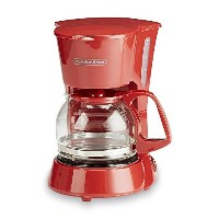 4 Cup Red Coffee Maker Small Kitchen Spaces Single Serving Coffeepot by Proctor Silex
