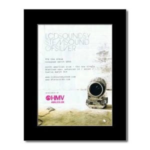 LCD SOUNDSYSTEM - Of Silver Mini Poster - 28.5x21cm