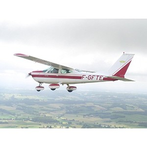 Wallmonkeys Wall Decals Transportation Cessna 177B Cardinal Peel and Stick Fabric Wall Sticker By...