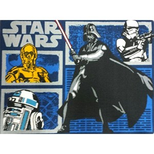Star Wars Characters Area Rug