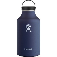 Hydro Flask 64 oz Vacuum Insulated Stainless Steel Water Bottle, Wide Mouth w/Flex Cap, Cobalt by...