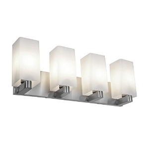 Access Lighting 50178-BS/OPL Archi?Wall and Vanity with Opal Glass Shade, Brushed Steel Finish ...