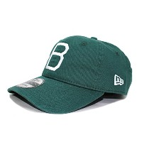 (ニューエラ) NEW ERA BROOKLYN DODGERS 【9TWENTY WASHED COTTON LEATHER STRAPBACK/GRN】 ブルックリン ドジャース