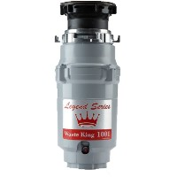 Waste King L-1001 Legend Series 1/2 HP Continuous Feed Operation Garbage Disposer