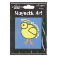 "TMBishop - Christian Adorable Little Chick マグネット Magnet - 3"" x 3.5"" - Weather Resistant, Long..."